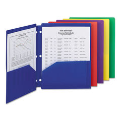 Smead® Poly Snap-In Two-Pocket Folder Thumbnail