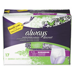 Always® Discreet Incontinence Underwear Thumbnail
