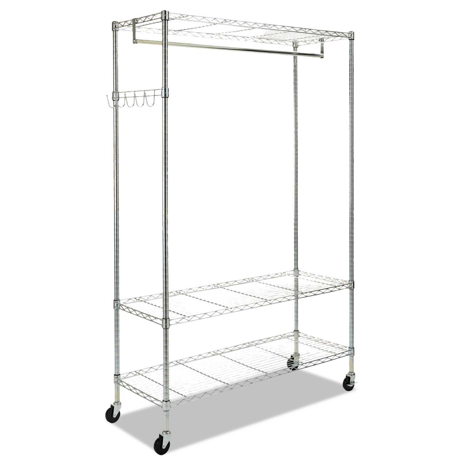 Wire Shelving Garment Rack by Alera® ALEGR364818SR