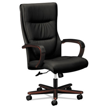 Stupendous Hon Vl844 Leather High Back Chair Alphanode Cool Chair Designs And Ideas Alphanodeonline