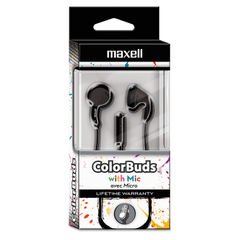 Maxell® Colorbuds with Microphone Thumbnail