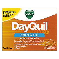 Vicks® DayQuil™ Cold & Flu LiquiCaps Thumbnail