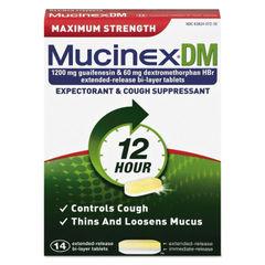 Mucinex® DM Maximum Strength Expectorant and Cough Suppressant Thumbnail