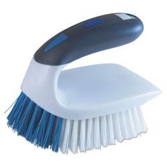 "QCK59202SC - 2-in-1 Iron Handle Brush, 2"" Bristles, 3"" Handle, White"