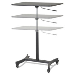 Victor® DC500 High Rise™ Collection Mobile Adjustable Standing Desk Thumbnail