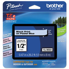 Brother P-Touch® TZe Series Standard Adhesive Laminated Labeling Tape Thumbnail