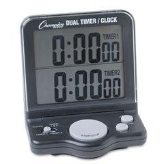 Champion Sports Dual Timer/Clock Thumbnail
