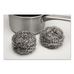 AbilityOne® SKILCRAFT® Stainless Steel Scrubber Thumbnail