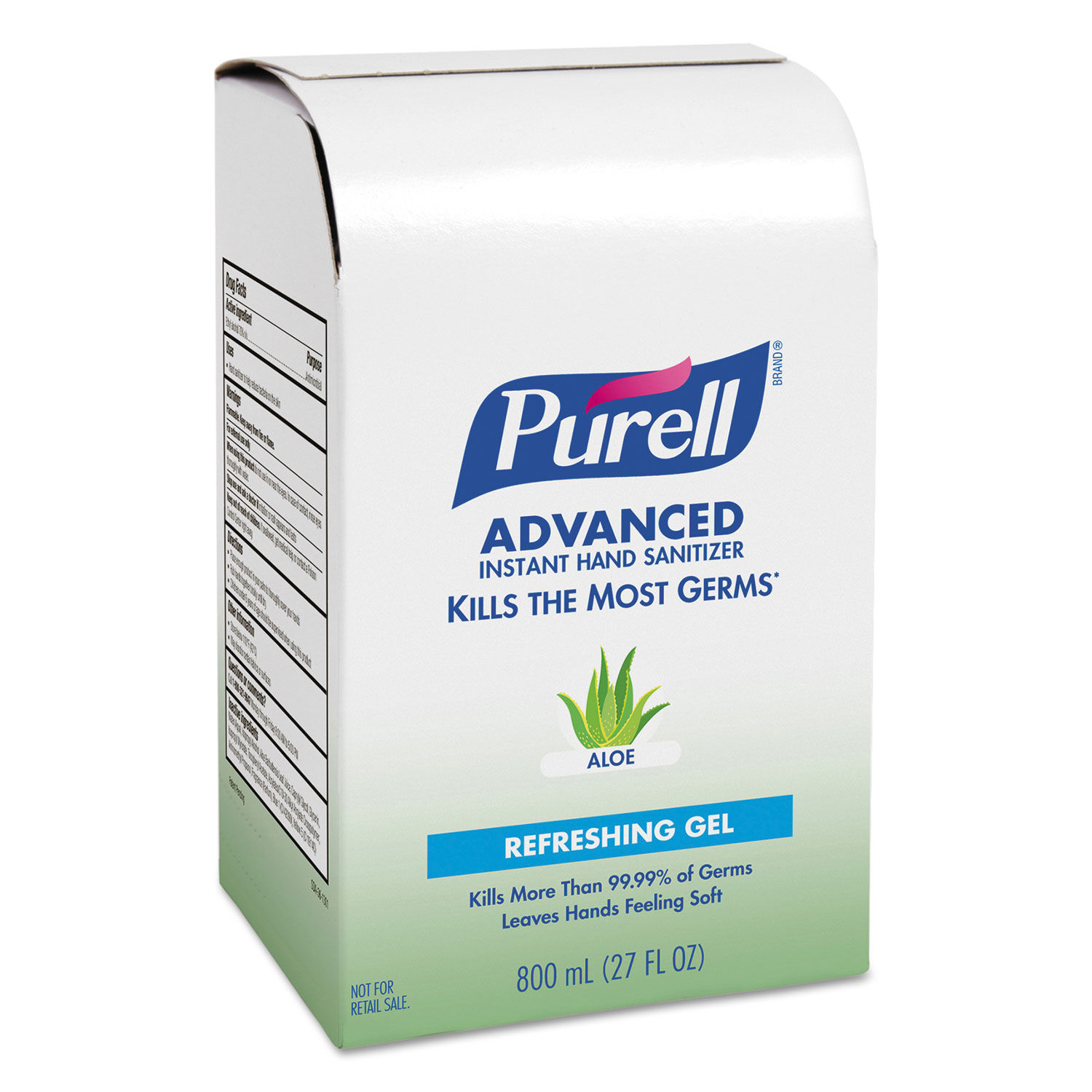 advanced hand sanitizer soothing gel refill by purell