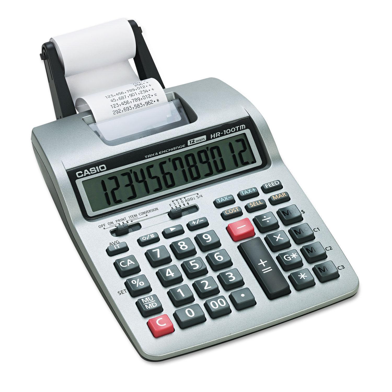 Casio HR100TM Casio HR 100TM Calculator Ink Roller