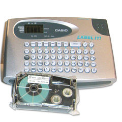 Casio EZ Label Printer Refill Size Chart