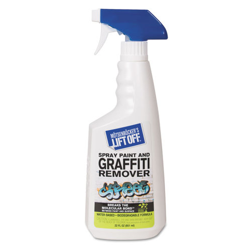 How To Remove Spray Paint From Plastic >> No 4 Spray Paint Graffiti Remover 22oz Trigger Spray 6 Ct