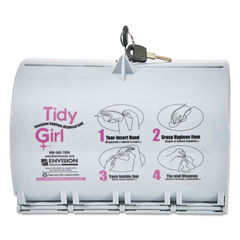 Tidy Girl™ Plastic Feminine Hygiene Disposal Bag Dispenser Thumbnail
