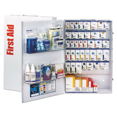 First Aid Only™ ANSI SmartCompliance Food Service First Aid Station with Medications Thumbnail