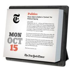 AT-A-GLANCE® YearInABox® New York Times Daily Desktop Box Thumbnail