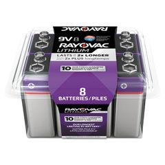 Rayovac® Lithium Batteries Thumbnail