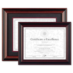 DAX® Two-Tone Rosewood/Black Document Frame Thumbnail