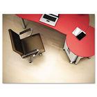 EconoMat Hard Floor Chair Mat, 46w x 60l, Clear