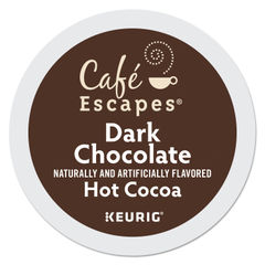 Café Escapes® Dark Chocolate Hot Cocoa K-Cups® Thumbnail
