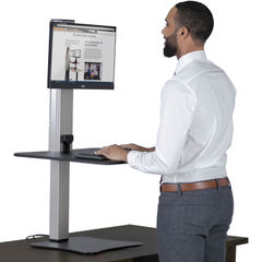 Victor® High Rise™ Electric Standing Desk Workstation Thumbnail