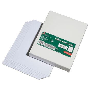 Recycled Laser/Inkjet Address Labels, 1 x 2 5/8, White, 7500/Box, GSA  7530015789290