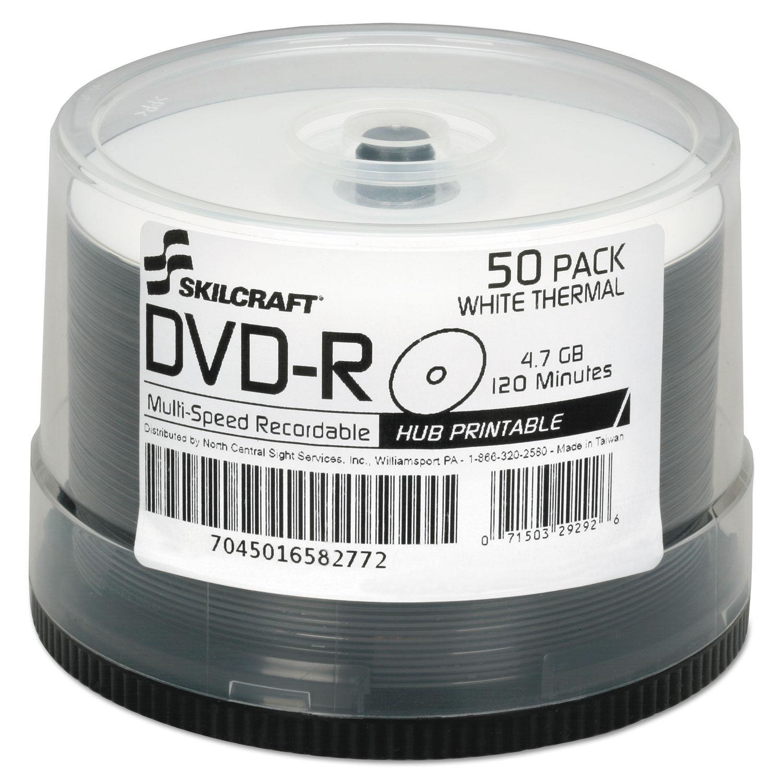 photo regarding Printable Dvd Rs identify Laser Printable DVD-R, 50/Pack, GSA 7045016582772