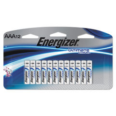 Energizer® Ultimate Lithium AAA Batteries Thumbnail