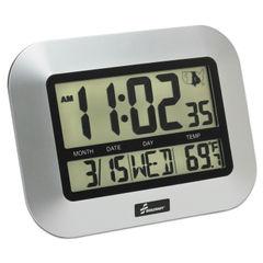AbilityOne® SKILCRAFT® LCD Digital Radio-Controlled Clock Thumbnail