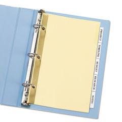 Avery® Insertable Standard Tab Dividers Thumbnail