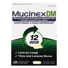 Mucinex® DM Expectorant and Cough Suppressant Thumbnail