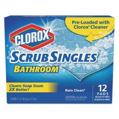 Clorox® Bathroom ScrubSingles® Scrubbing Pads Thumbnail