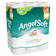 Angel Soft® Double-Roll Bathroom Tissue Thumbnail