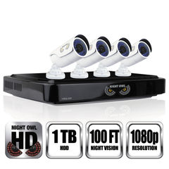 Night Owl 8 Channel 1080p HD Video Security DVR Thumbnail