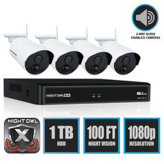 Night Owl 4 Channel Wireless Smart Security Hub Thumbnail