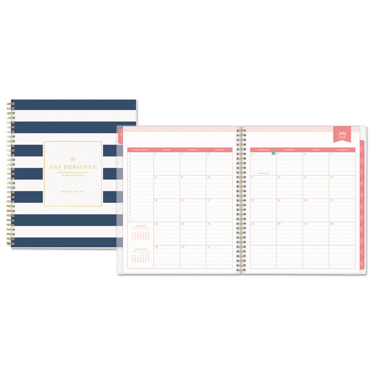 photo about Day Designer Daily Planner called Working day Designer Educational Calendar year Each day/Regular Frosted Planner, 8 x 10, Military services/White