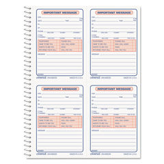 Universal® Wirebound Message Books Thumbnail