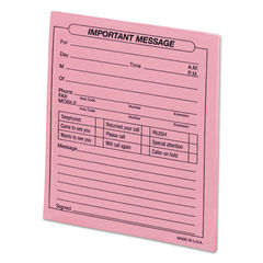 "Universal® ""Important Message"" Pink Pads Thumbnail"