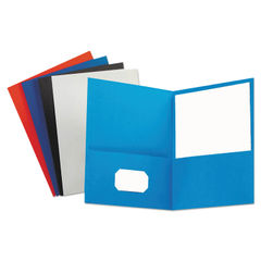 Universal® Two-Pocket Portfolios with Textured Covers Thumbnail
