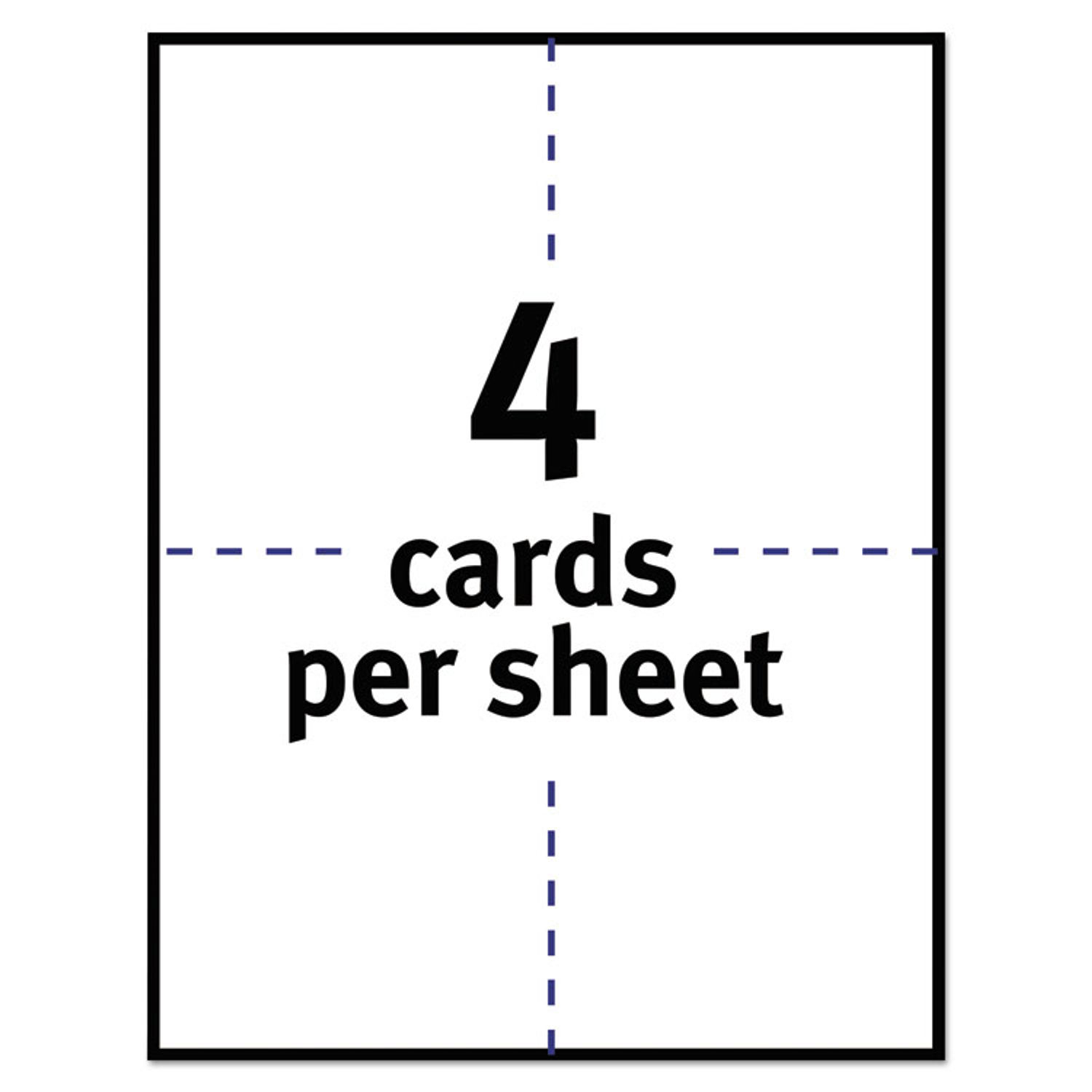 Postcards for Laser Printers by Avery® AVE5689