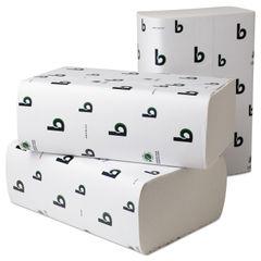 Boardwalk® Boardwalk® Green Folded Towels Thumbnail