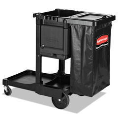 Rubbermaid® Commercial Executive Janitorial Cleaning Cart Thumbnail