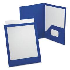 Oxford™ ViewFolio™ Poly Twin-Pocket Folders Thumbnail