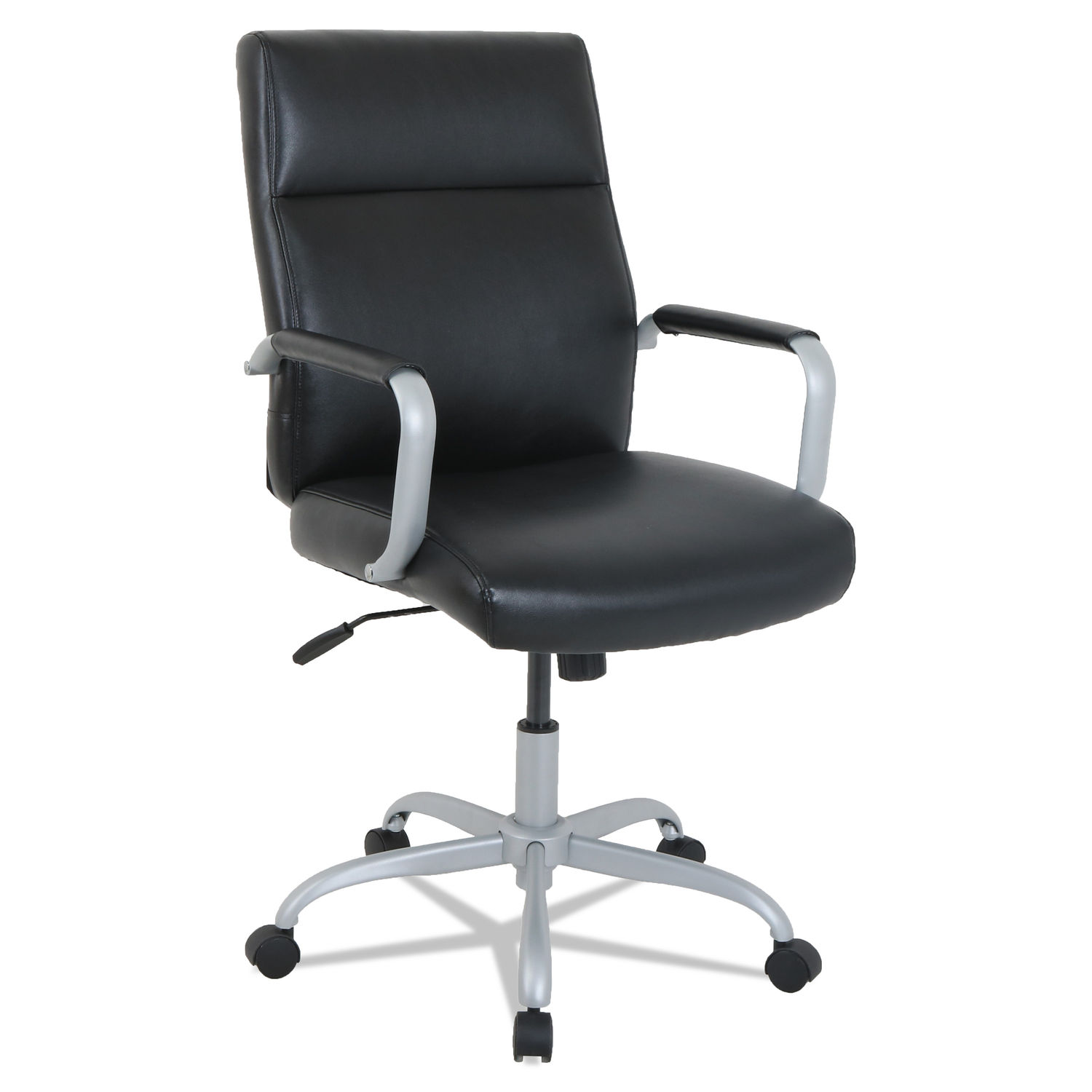 Awesome Alera Kathy Ireland Office By Alera Manitou Series High Back Leather Office Chair Alphanode Cool Chair Designs And Ideas Alphanodeonline