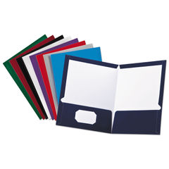 Oxford™ Laminated Twin Pocket Folders Thumbnail