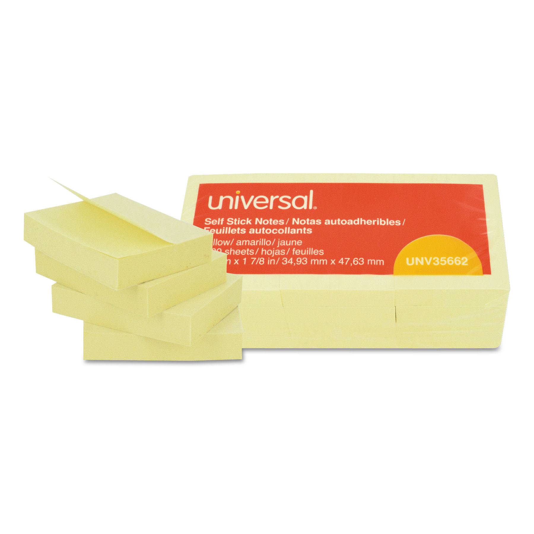 No Tax Lined 4 x 6, Canary Yellow Post-it Notes 12 Pack