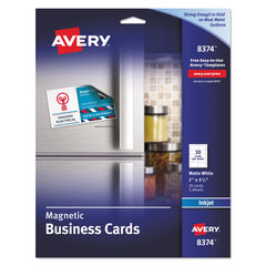 Avery® Magnetic Business Cards Thumbnail