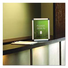 Quartet® Clip-Frame Aluminum Sign Holder Thumbnail