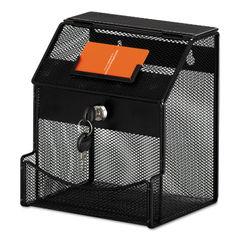 Safco® Onyx™ Mesh Collection Box Thumbnail