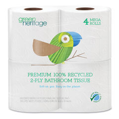 Resolute Tissue Green Heritage Pro® Retail Bathroom Tissue Thumbnail