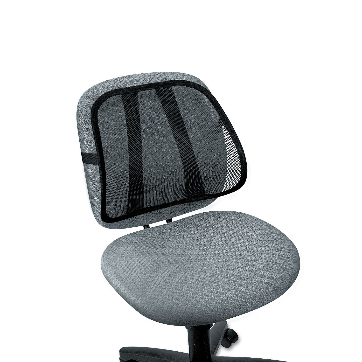 Office Suites Mesh Back Support 17 3 4 X 5 X 15 Black
